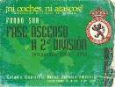 Temporada 2000/2001 (Fase de ascenso)