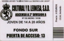 Temporada 2001/2002 (Fase de ascenso)