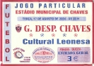 Cartel Chaves - Cultural